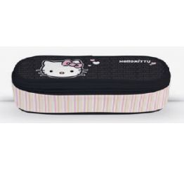 Pinal HELLO KITTY BLACK 21,5x7,5*5,5 cm, ovaalne, tühi