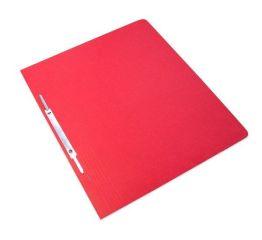 Kiirköitja klambriga A4 kartong,350 g/cm-punane