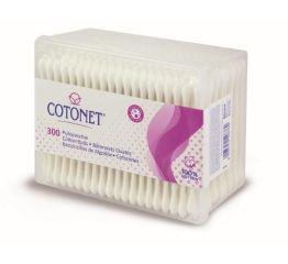 Vatitikud COTONET 300 tk. kandilises karbis