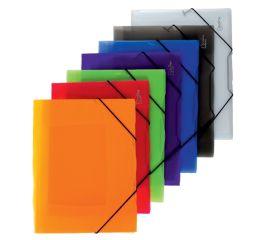 Dokumendimapp OPALINE 3 klapi ja nurgakummidega A4
