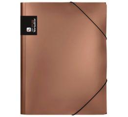 Dokumendimapp Metallic 3 klapi ja nurgakummidega A4