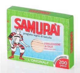 Hambatikud SAMURAI 200 tk pappkarbis