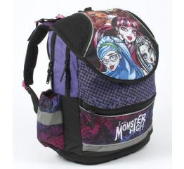 Koolikott MONSTER HIGH 40x35x18 cm,Anatomical Plus, klapiga