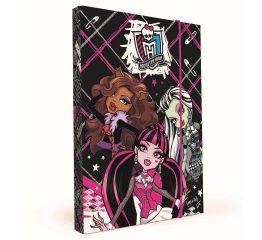 Vihikumapp MONSTER HIGH A5 kummiga laius 3cm