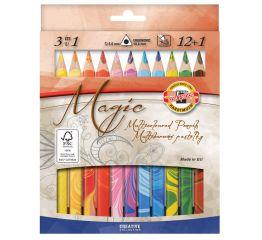 Pliiats KOH-I-NOOR MAGIC 12 tk +värvide pehmendaja