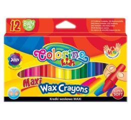Pastellkriidid COLORINO MAXI 12 värvi väikelastele