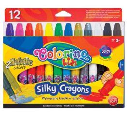 Pastellid COLORINO 3in1, 12 värvi, keeratavad