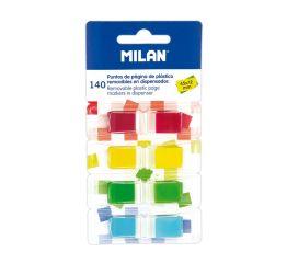 Indeksid MILAN kleepsuga 12x45 mm,4 värvi x 35 lehte