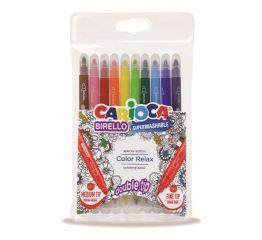 Viltpliiatsid CARIOCA BIRELLO värvimisraamatule 10 tk blistris