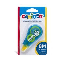 Korrektuurlint CARIOCA 5 mm x 8m, assortii, blistris