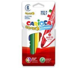 Viltpliiatsid CARIOCA BRAVO 6 tk karbis
