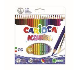 Värvipliiatsid CARIOCA ACQUARELL, akvarellitavad 24 tk