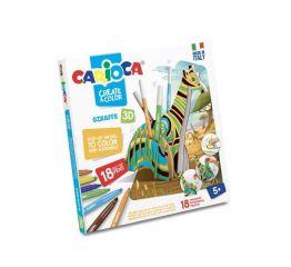 Komplekt CARIOCA CREAT&COLOR 3D KAELKIRJAK