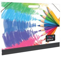 Joonistuste mapp OXY Color  A3