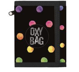 Rahakott OXY Dots colors 12x9,5x1,5 cm