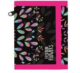 Rahakott Fashion flowers 12*9,5*1,5cm