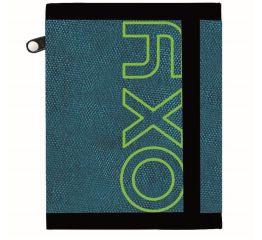 Rahakott OXY Blue/green 12*9,5*1,5cm