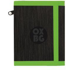 Rahakott OXY Campus black 12x9,5x1,5 cm