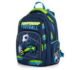 Seljakott OXY STYLE MINI Football blue 30x42x21 cm, anatoomiline
