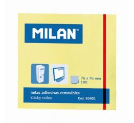 Märkmepaber MILAN kleepsuga 76x76mm