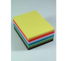 Värvipaberite komplekt A4 10 värvi x 50 lehte