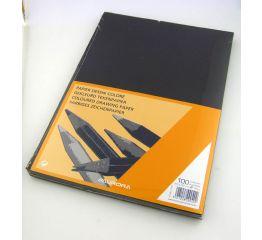 Värvipaber A4 100 lehte - must