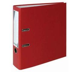 Registraator A4 80mm, 2 auguga, punane