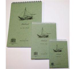 Joonistusplokk A4, 60 lehte, 80gsm, topeltspiraal