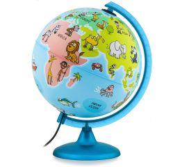 Gloobus MAPPA&MONDO läbim.25 cm + värvitav maakaart
