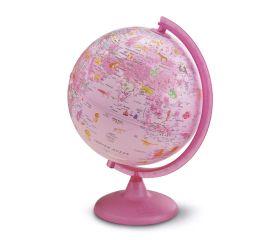 Gloobus PINKZOO läbim.25 cm eestikeelne, roosa, tüdrukute mudel