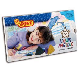 Rasvakriidid JOVI Magic Bear 10 pastellvärvi