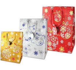Sangadega jõulukott SÄRAVAD JÕULUD (3 värvi)
