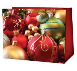 Sangadega jõulukott värvilised kuulid