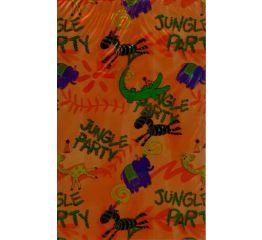 Fooliumkott lastele - džungel 9x15
