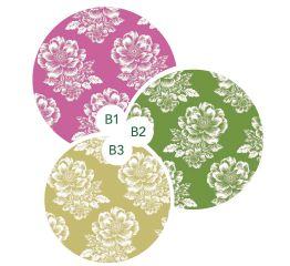 Fooliumkott õied vintage 25x40 (3 erinevat värvi)