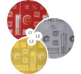 Fooliumkott ornamendid 25x40 (3 erinevat värvi)