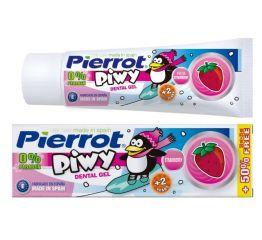 Hambapasta PIERROT Piwy geel-pasta, 2+ a-le, maasikamaitse, 75 ml