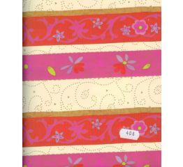 Fooliumkott ornamentidega triibud 45x60