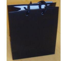 Nöörsangadega kott must 26,4x32,7*13,6