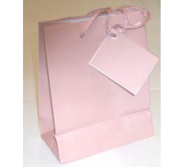 Nöörsangadega kott roosa 50x46x12