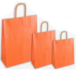 Sangadega kott pärlmutter oranz 36x12x41