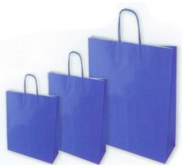 Sangadega kott pärlmutter sinine 36x12x41