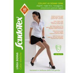 Sukkpüksid tugevdatud püksiosaga 7-9 mmHg, 40 DEN
