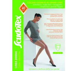 Sukkpüksid rasedale elastse toetava kõhuosaga 7-9 mmHg, 40DEN