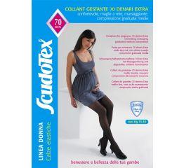 Sukkpüksid rasedale elastse toetava kõhuosaga 15-18 mmHg, 70DEN