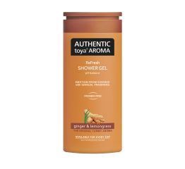 Dušigeel AUTHENTIC toya AROMA ingver&sidrunhein 400 ml