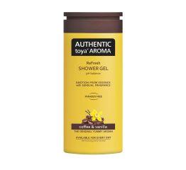 Dušigeel AUTHENTIC toya AROMA kohv&vanill 400 ml