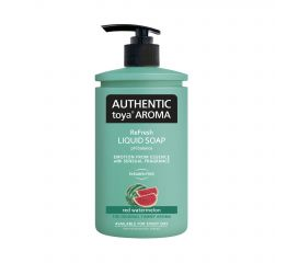 Vedelseep AUTHENTIC toya AROMA arbuus 400ml pumbaga