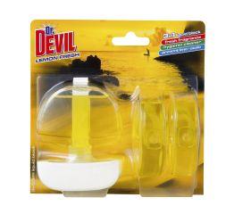 WC geel dr DEVIL 3x55ml + konteiner lemon