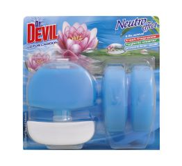 WC geel dr DEVIL 3x55ml + konteiner lotus lagoon